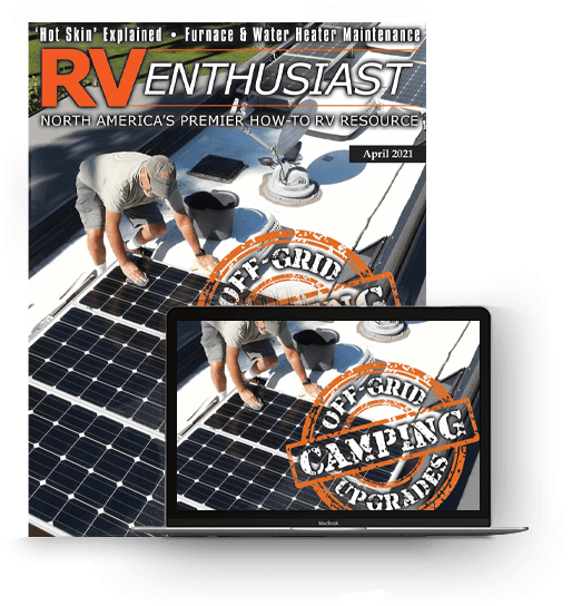 RV Enthusiast April 2021 issue